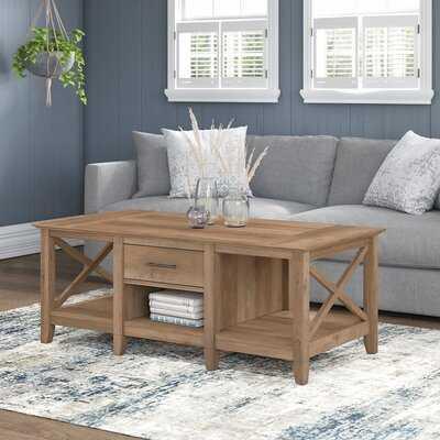 Batley Coffee Table with Storage - Wayfair