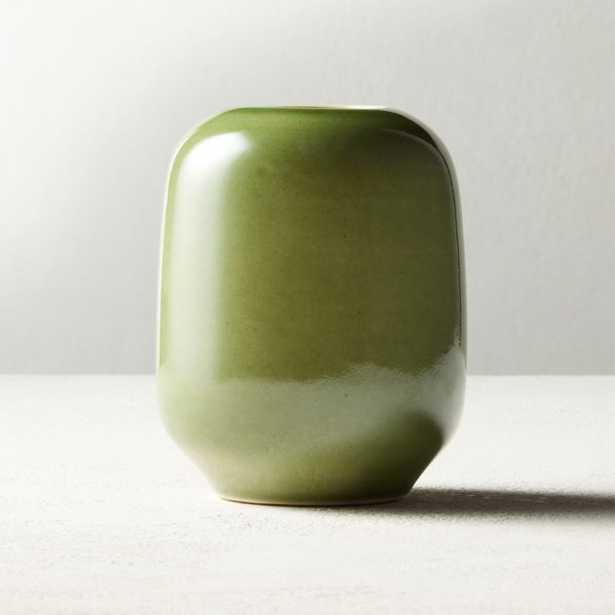 Olive Green Bud Vase - CB2
