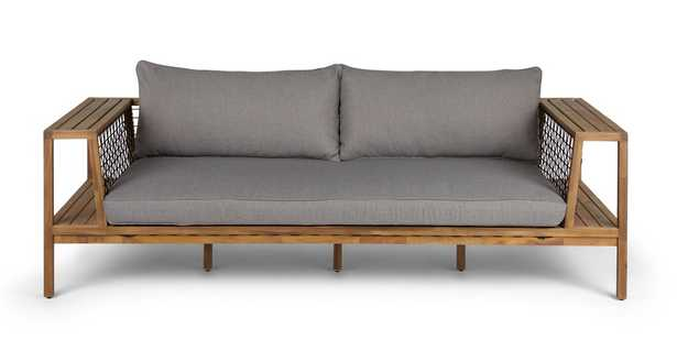 Callais Taupe Gray Sofa - Article