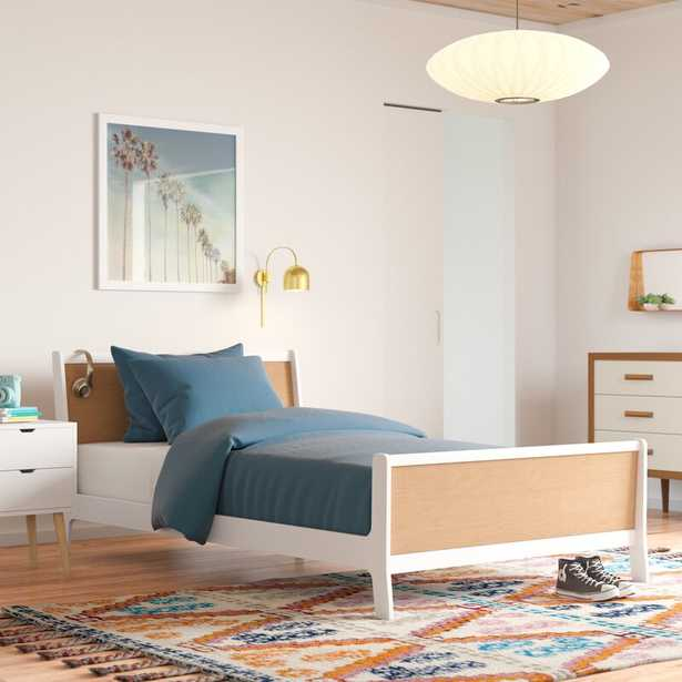 Oeuf Sparrow Twin Panel Bed Bed Frame Color: Birch - Perigold