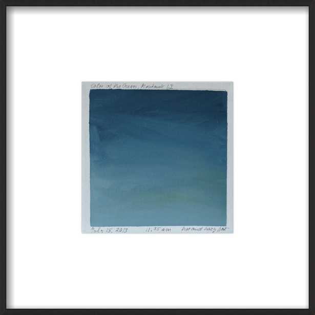 Blue Painting 6 by Marie Freudenberger for Artfully Walls - Artfully Walls