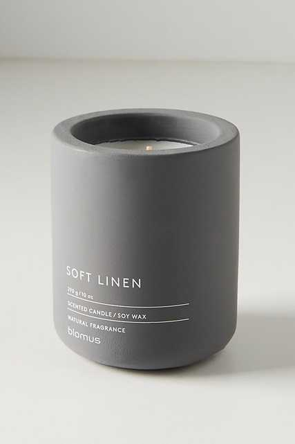 Concrete Candle By Anthropologie in Grey Size M - Anthropologie