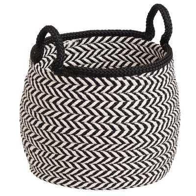 "Preve Fabric Basket 18"" H x 18"" W x 17"" D - Wayfair"