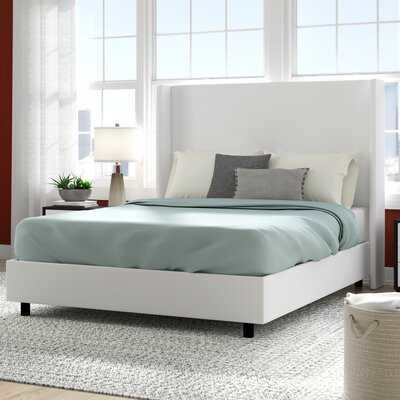 Goodrich Velvet Upholstered Standard Bed - Wayfair