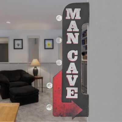 Man Cave LED Sign - Wayfair