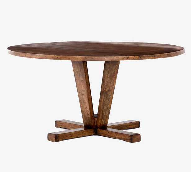 Parkview Reclaimed Wood Round Dining Table- backordered until Jan. 6 - Jan. 20 - Pottery Barn