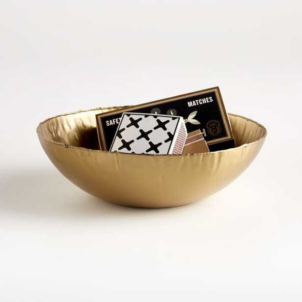 Gold Bowl - Crate and Barrel