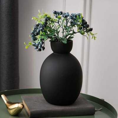 Flower Vase Ceramic Vases For Decor, Flower Vase For Home Decor Living Room, Home, Office, Centerpiece,Table And Wedding - Wayfair