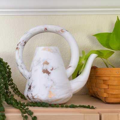 """10"""" Loop GD Marble Ceramic Watering Can - Wayfair"""