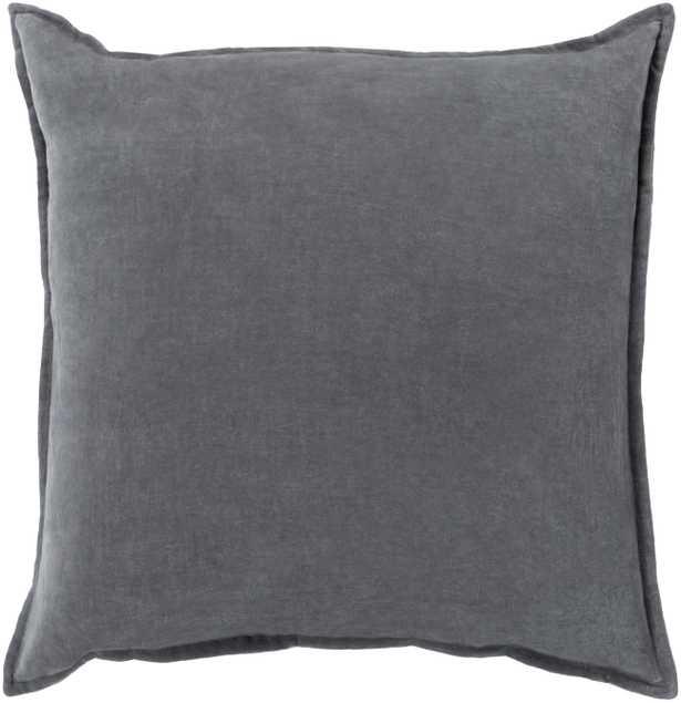 """Cotton Velvet - CV-003 - 22"""" x 22"""" - pillow cover only - Neva Home"""