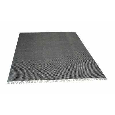 Saegertown Geometric Handmade Flatweave Cotton Black/Off White Area Rug - Wayfair