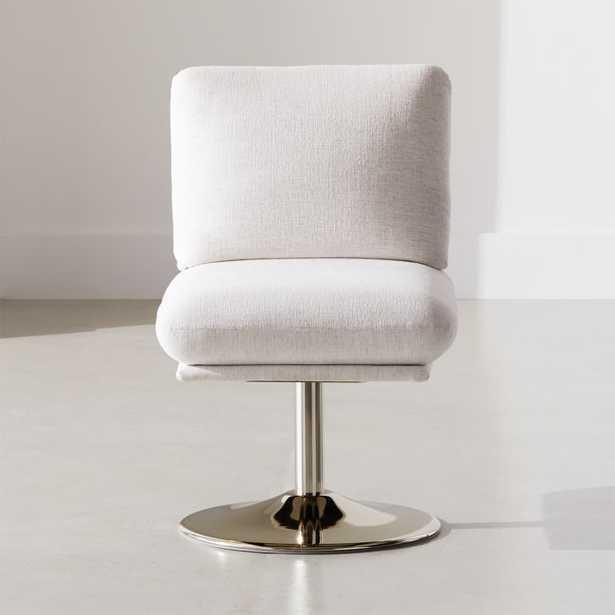 Swivel Pedestal Chair - CB2