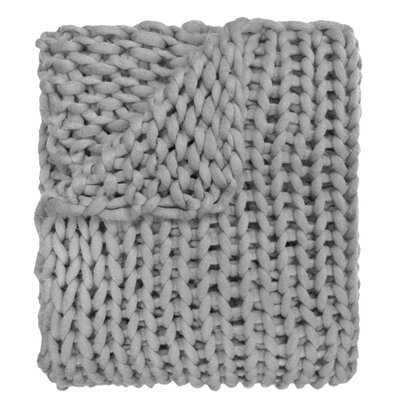 Hardwick Chunky Knitted Throw - AllModern