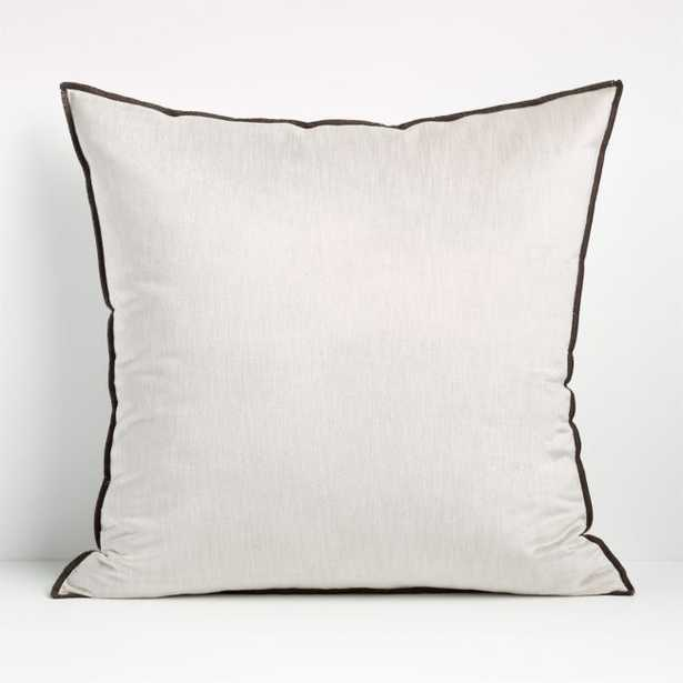 """Styria Moonbeam 23"""" Pillow Cover - Crate and Barrel"""