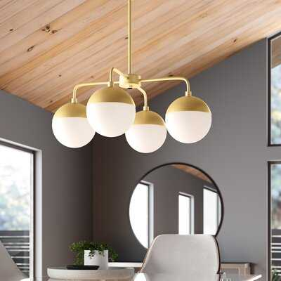 Nora 4-Light Shaded Classic / Traditional Chandelier - AllModern