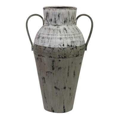 Asberry Two Tone Floor Vase - Wayfair