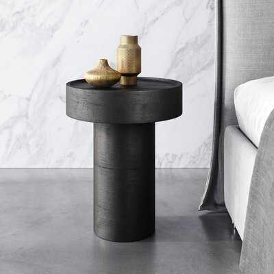 Side Table Matte Black - Wayfair