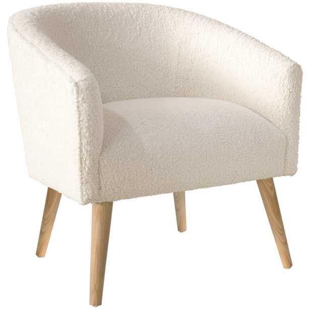 Dexter Chair in Sheepskin Natural - Roam Common