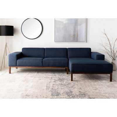 """Denson 109.5"""" Wide Sofa & Chaise - Wayfair"""