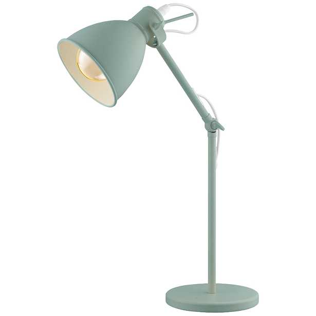 Eglo Priddy-P Pastel Light Green Adjustable Desk Lamp - Style # 85Y38 - Lamps Plus