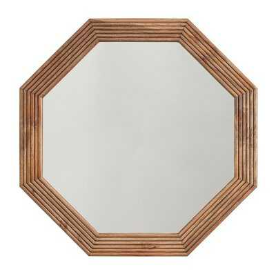 Dhruv Wood Coastal Accent Mirror - Wayfair