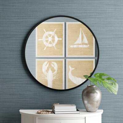 Hub Modern and Contemporary Accent Mirror - Birch Lane