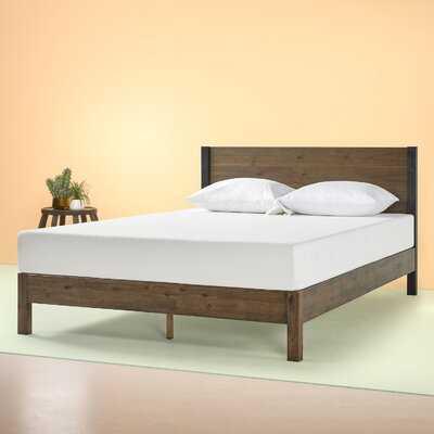 Prinsburg Wood Platform Bed - Wayfair