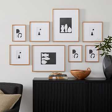 The Family Photo Wall, Wheat - West Elm