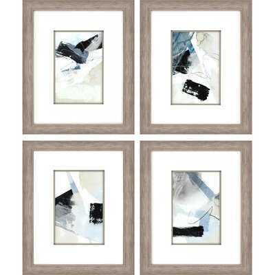 'New Beginning' - 4 Piece Picture Frame Graphic Art Set on Paper - Wayfair