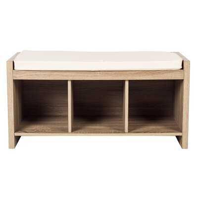 Hetvi Cubby Storage Bench - Wayfair