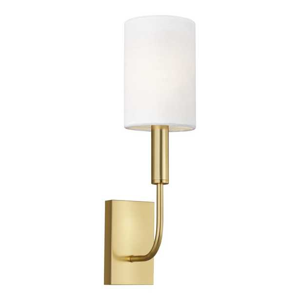 """""""ED Ellen DeGeneres crafted by Generation Lighting Brianna 1 - Light Dimmable Candle Wall Light"""" - Perigold"""