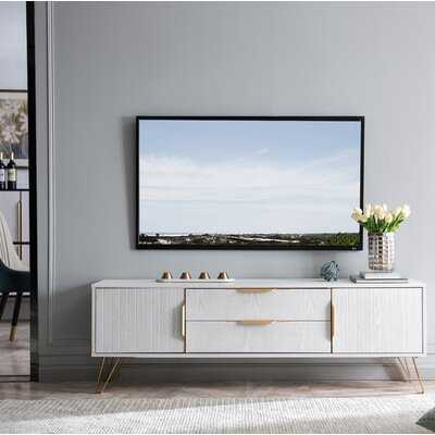 """Mcmann TV Stand for TVs up to 65"""" - Wayfair"""