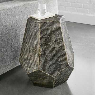 Donato Block End Table - Wayfair