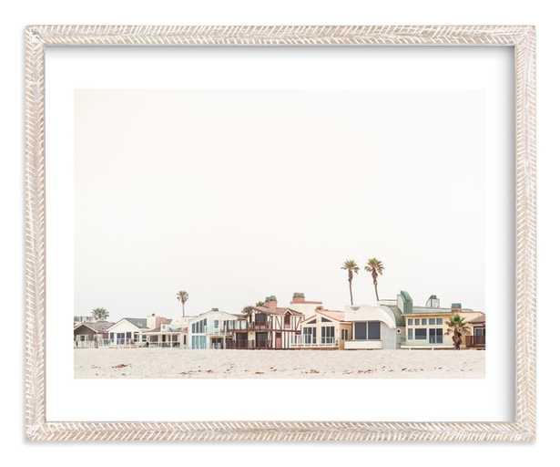 Beach Houses Art Print - Minted