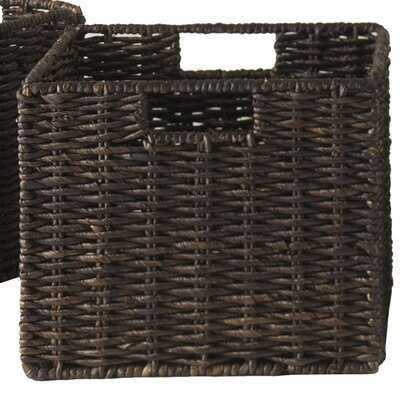 Wicker Basket, Set of 4 - Wayfair
