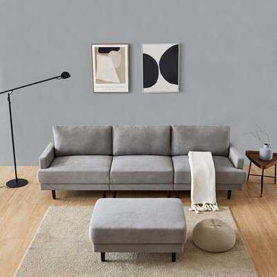 Modern Fabric Sofa - Wayfair