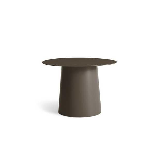 Blu Dot Circula Low Side Table Color: Dark Olive - Perigold