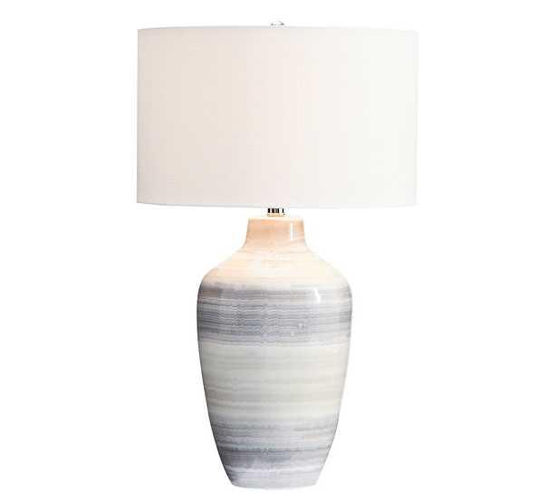 Hadley Ceramic Table Lamp, Large - Pottery Barn