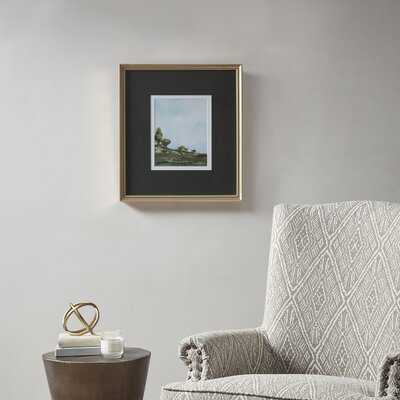 Across The Plains 1 Picture Frame Graphic Art Print on Paper - Birch Lane