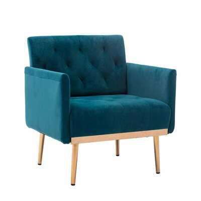 Bem 31.1'' W Tufted Velvet Armchair - Wayfair