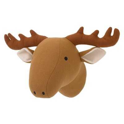 Plush Head Moose Faux Taxidermy - Wayfair