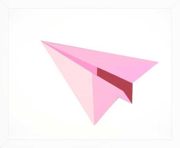 Paper Planes (Pink) by Rankin Willard for Artfully Walls - Artfully Walls