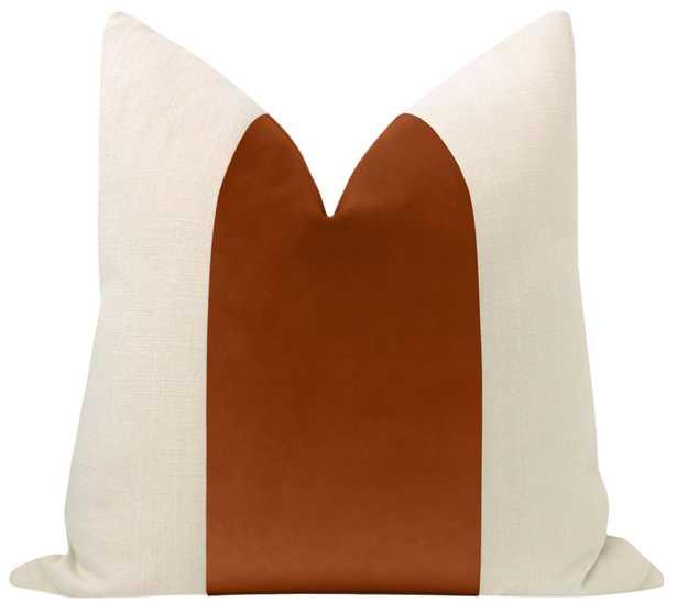 """PANEL :: Classic Velvet // Terracotta - Little Lumbar 12"""" X 18"""" - Little Design Company"""
