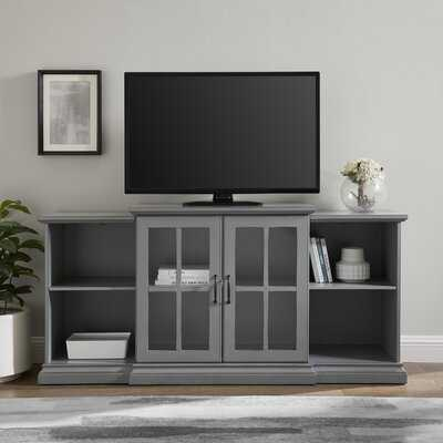 """Taft Cabinet/Enclosed storage TV Stand for TVs up to 65"""" inches - Wayfair"""
