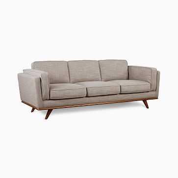 Zander Sofa,Shell,Austria,Almond - West Elm