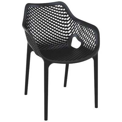 Kyrie Stacking Patio Dining Chair (Set of 2) - AllModern