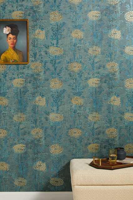 French Marigold Wallpaper - Anthropologie