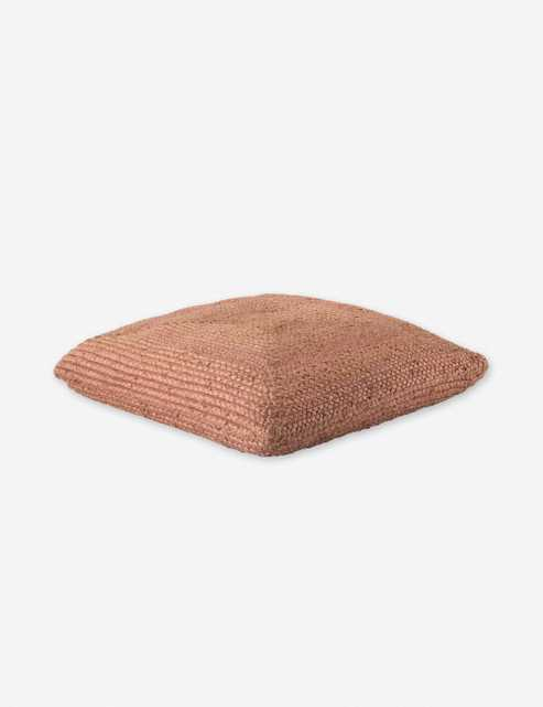 Candess Floor Pillow, Pink - Lulu and Georgia