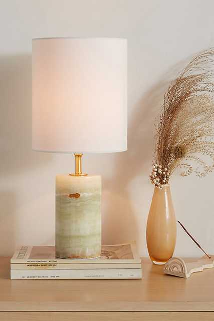 Jade Table Lamp By Anthropologie in Gold - Anthropologie