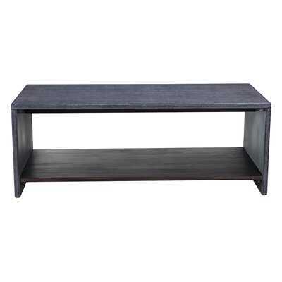 Galesburg Stone/Concrete Coffee Table - AllModern